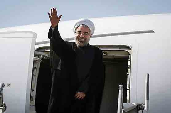 iranian-president-rouhani-arrives-in-pakistan-for-eco-summit