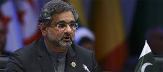shahid khaqan abbasi speech US decision to recognizeJerusalem