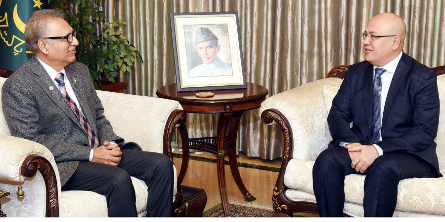 President of Pakistan Dr. Arif Alvi for exploring Ziyarah tourism potential ofUzbekistan